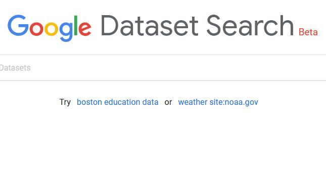 جستجوی دیتاست با استفاده از امکان جدید گوگل